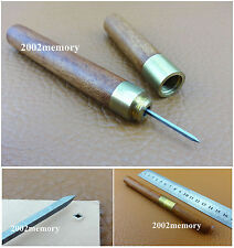 One 3mm Leather Craft Sewing Stitching Diamond Point Awl Tool NEW