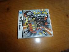 Jeu pour console Nintendo DS, Pokémon version platinum