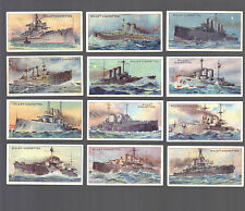 CIGARETTE CARDS. Wills Tobacco.THE WORLD'S DREADNOUGHTS (1910).(Full Set of 25).