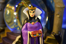 Snow White Evil Queen Musical Magic Mirror Picture Frame Snowglobe NIB #98170
