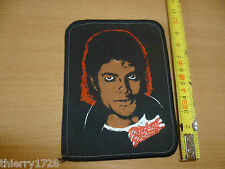 (11)  PATCH ECUSSON TISSU A COUDRE / COLLER ANNEES 80-90  MICKAEL JACKSON