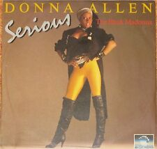 "Donna Allen, Serious, VG+/EX 7"" Single 0693"