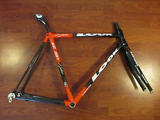 LOOK KG 381 LAURENT JALABERT SIGNATURE CARBON ROAD RACE BIKE FRAME SET 53 CM