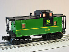 LIONEL JOHN DEERE ILLUMINATED CABOOSE o gauge train nothing runs like a 6-81480