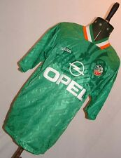 VINTAGE IRELAND ADIDAS OPEL FOOTBALL SHIRT