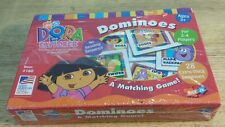 DORA THE EXPLORER DOMINOES 2001 MATCHING GAME NEW / SEALED NIB NICK JR.