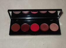 EF STUDIO Lip Color Cream Palette L103 Shimmer Sheer Satin 5 Shades new