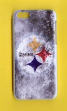 PITTSBURGH  STEELERS Rigid 1 Piece Snap-on Case iPhone 5C (Design 14)FREE STYLUS