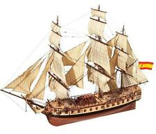 "Beautiful, brand new wooden model ship kit by OcCre: ""HMS Diana"" frigate"