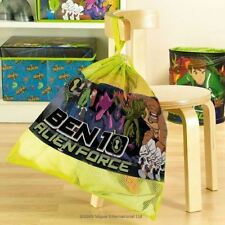 Childrens Ben 10 Drawstring Tidy Bag For Kids - Free 1st Class Delivery