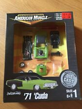 ERTL American Muscle '71 Cuda Model Kit Diecast 1:64 New,unopened!