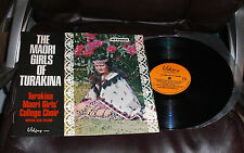 THE MAORI GIRLS OF TURAKINA Viking LP NM College Choir New Zealand Karu RUKUHIA