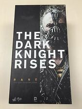 Hot Toys MMS 183 The Dark Knight Rises Batman Bane Tom Hardy 12 inch Figure USED