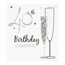 40th Birthday party invitation cards, Inc. envelopes. 6 Pack Simon Elvin Qlty