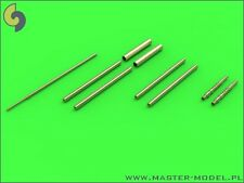 FOCKE WULF FW 190 A-6 ARMAMENT SET (MG 17, MG 151 BARRELS AND PITOT) 1/32 MASTER