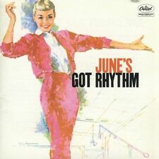 June's Got Rhythm June Christy sealed CD 15trx Capitol Jazz vocal Bud Shank 1958