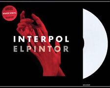 INTERPOL El Pintor LP on WHITE VINYL New STILL SEALED Color Vinyl US PRESS