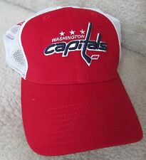 NHL Washington Capitals New Era 39Thirty Baseball Cap Hat Med/Large