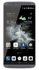 "ZTE Axon 7 64GB Unlocked Smartphone 5.5"" 4GB LTE 4G Quartz Gray Android SN201354"