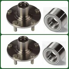 2 FRONT WHEEL HUB & BEARING FOR MAZDA 3 (2005-2011) NEW FAST SHIPPING