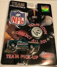 1998 1:64 Nfl Team Collectiable Miami Dolphins White Rose Pick Up