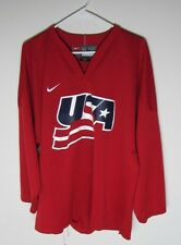 VTG JERSEY NIKE USA TEAM OLYMPICS GAMES SZ L MEN HOCKEY  NHL BEILHARZ