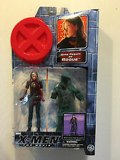 Marvel X-Men The Movie Anna Paquin as Rogue with Cloth Cloak & Scarf! NEW! 2000