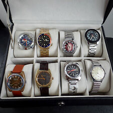JobLot Vintage Watches Automatic ETA Bulova Lemania Vintage Divers Spares Repair