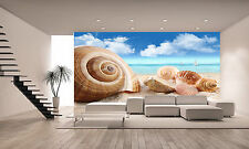 Seashells on the Beach Wall Mural Photo Wallpaper GIANT DECOR Paper Poster