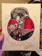 Tyler Stout Guardians of The Galaxy THANOS Mondo Marvel AVENGERS INFINITY WAR