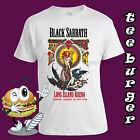 Black Sabbath Tour Vintage Rock Retro Cool White T-shirt