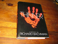 Richard Bachman thinner stephen king 1st pressing edition book horror rare