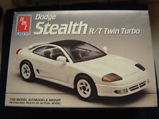 AMT Dodge Stealth R/T Twin Turbo   Kit #6166 Open But Complete