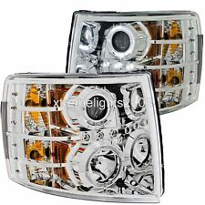 FOREST RIVER FR3 2015 2016 CHROME LED HEAD LIGHTS LAMPS HEADLIGHTS RV PAIR