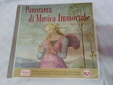 "PANORAMA DI MUSICA IMMORTALE 12 LP VINILE 33 GIRI 12"" RCA READER'S DIGEST-AFFARE"