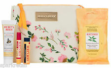 Burt's Bees DISCOVER NATURE Gift Bag: Lip Balm & Shimmer/Towelettes/Body Lotion