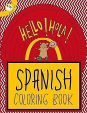 Spanish Coloring Books for Kids: Color and Learn by Individuality Books Staff...