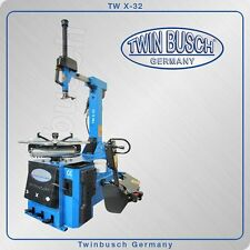 Twin Busch ® Tire changer TW X-32 with pneumatically operated tilt back column
