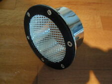 A LAMBRETTA PANEL CARB AIR INLET VENT MESH SCOOP FOR GP,,RB,TV,SX,TS1 AF RAPIDO