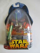 MOC 2005 HASBRO STAR WARS REVENGE OF THE SITH YODA COLLECTION 1 ACTION FIGURE