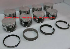 Speed Pro/TRW Ford/Mercury 351C Forged Coated Flat Top Pistons+MOLY Ring Kit STD
