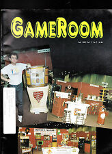 GameRoom Magazine  Pinball Flippers Pasadena Show July 1995