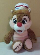 "Authentic Disney Cruise Line Dale of Chip & Dale Chipmunks Plush 10"" stuffed toy"