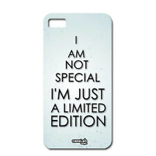 CUSTODIA COVER CASE FRASE LIMITED EDITION FUN PER iPHONE 6 PLUS 5.5""