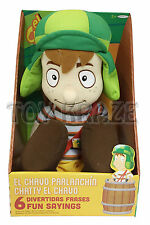 "EL CHAVO PARLANCHIN TALKING PLUSH DOLL! SOFT STUFFED DEL OCHO BOYS TOY 18""  NWT"