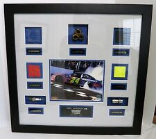NASCAR Jeff Gordon Race Used Memorabilia  Mounted & Framed LE #38 of 124 w/ COA
