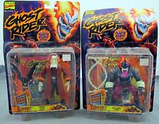 Ghost Rider Set Of 2 Action Figures Vengeance & Blackout 1995 Toy Biz NEW
