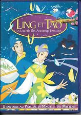 DVD ZONE 2--LING ET TAO LA LEGENDE DES AMOUREUX PAPILLONS