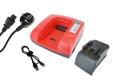 2.1A 20-36V Chargeur pour HILTI UH 240-A, B 24/3.0, Rouge, Garantie D'un An