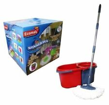 Spin Mop Spinner Head Hygiene Kitchen Any Floor 360 Clean Stainless Steel Handle
